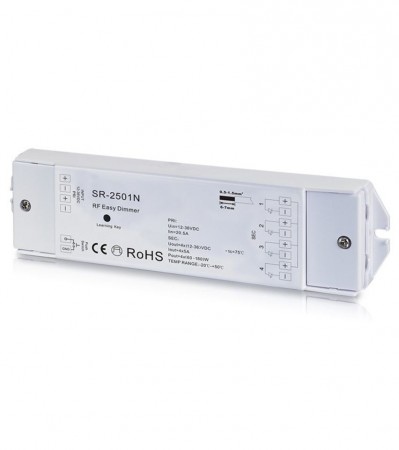 LED Dimmer impuls 4x5A 12-36VDC