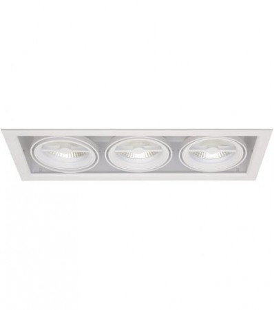 LED Downlight MD-250, 230V, 3x10W, Hvit