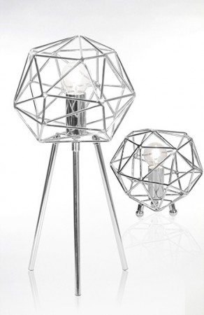 Bordlampe DIAMOND krom
