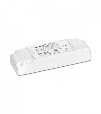 Dimbar LED driver for faseavsnitt/trailing-edge dimmer 25W 24V