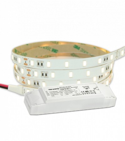 5M LED strip kit PROFF IP20 24V 1500lm 14,4W